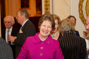 Jane Holderness-Roddam at our Buckingham Palace 85th anniversary reception