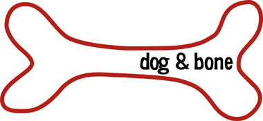 dog & bone logo